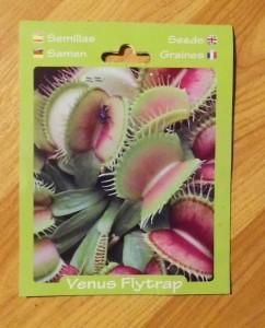 Venusfliegenfallen-Samen